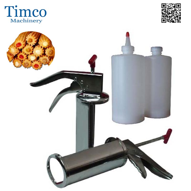 Mini Churros Filler Maker 1L Filling Machine Freeshipping Jam Filler trendy plus size women s v neck short sleeve self tie t shirt