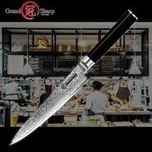 Damasco faca de cozinha 5.9 Polegada faca utilitário japonês vg10 aço damasco facas cozinha chef cozinhar ferramentas 67 camadas inoxidável