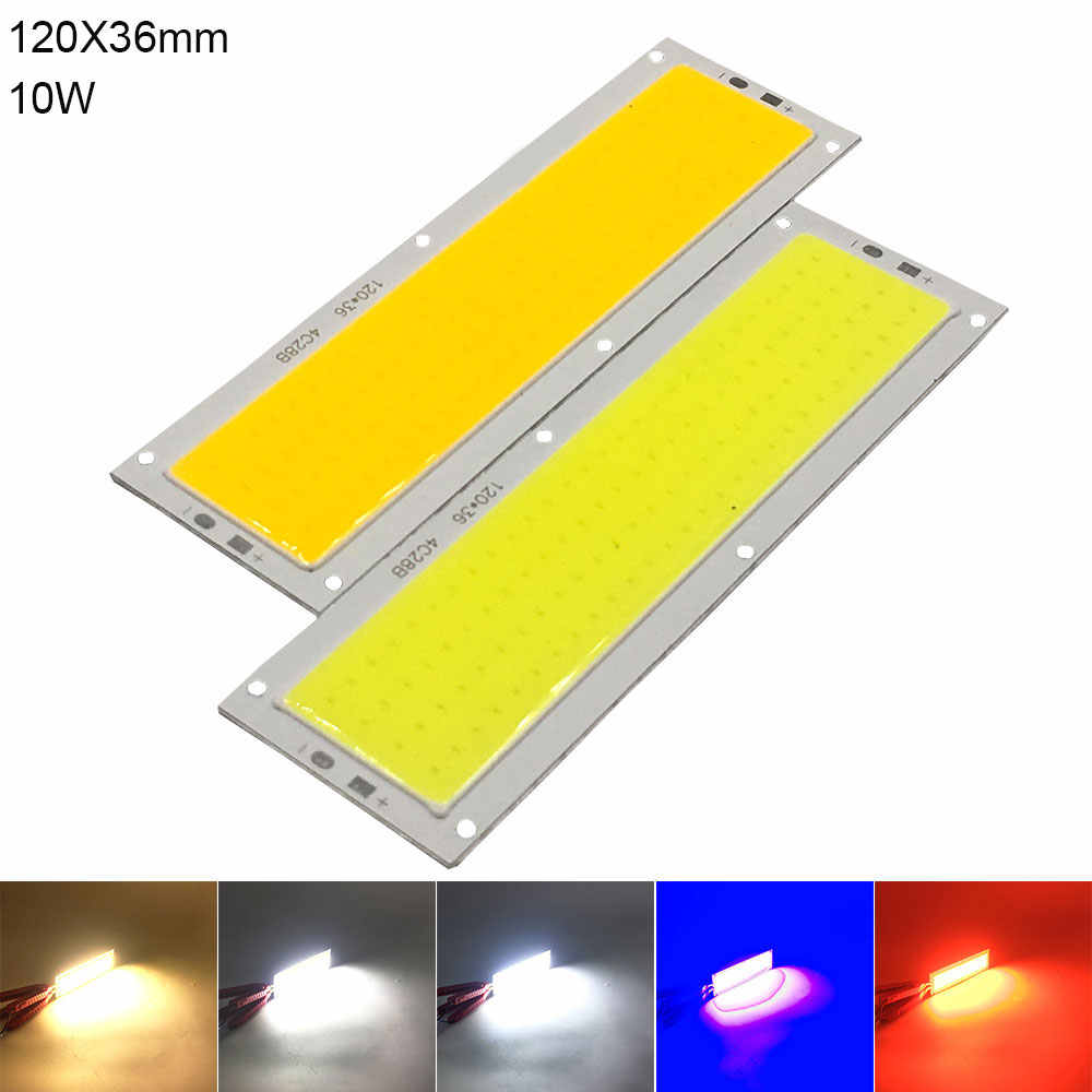 DC 12V COB Lampe LED-Chip Panel Licht 2W-300W Alle Größe COB Modul Warme Natürliche kalt Weiß Rot Grün Blau Farbe LED Lampe für DIY