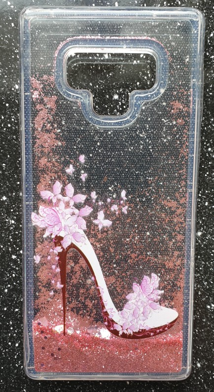 Unicorn Liquid Glitter Heart Cases For Samsung iPhone photo review