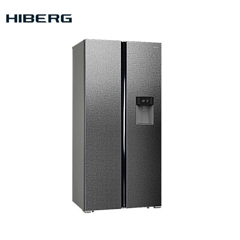 все цены на Refrigerator Side-by-Side  HIBERG RFS-484DX NFXq онлайн