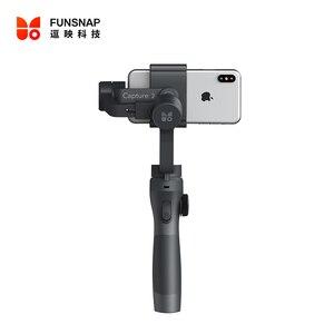 Image 5 - Funsnap yakalama 2 el Gimbal sabitleyici Smartphone GoPro 7 XiaoYi 4k eylem kamera değil DJI OSMO 2 ZHIYUN FEIYUTECH