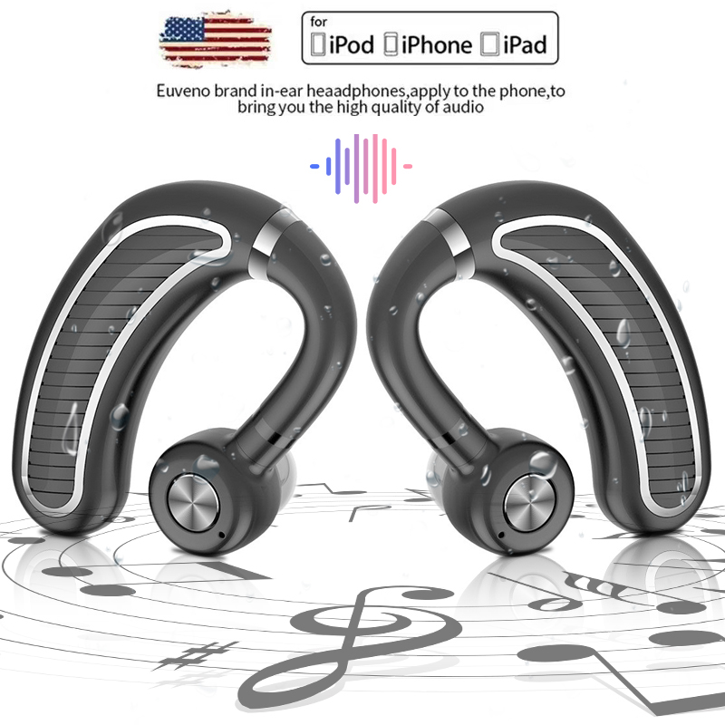 ToHayie Handsfree Car Wireless Bluetooth Earphones With Mic Phone Wireless Headphones Cordless Headset YC893 Наушники