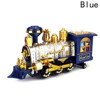 Zabawki dla dzieci Boże Narodzenie steam train klasyczne symulacja zabawki pociągu toru światła muzyka elektryczna palenia diecast zabawki dla dzieci
