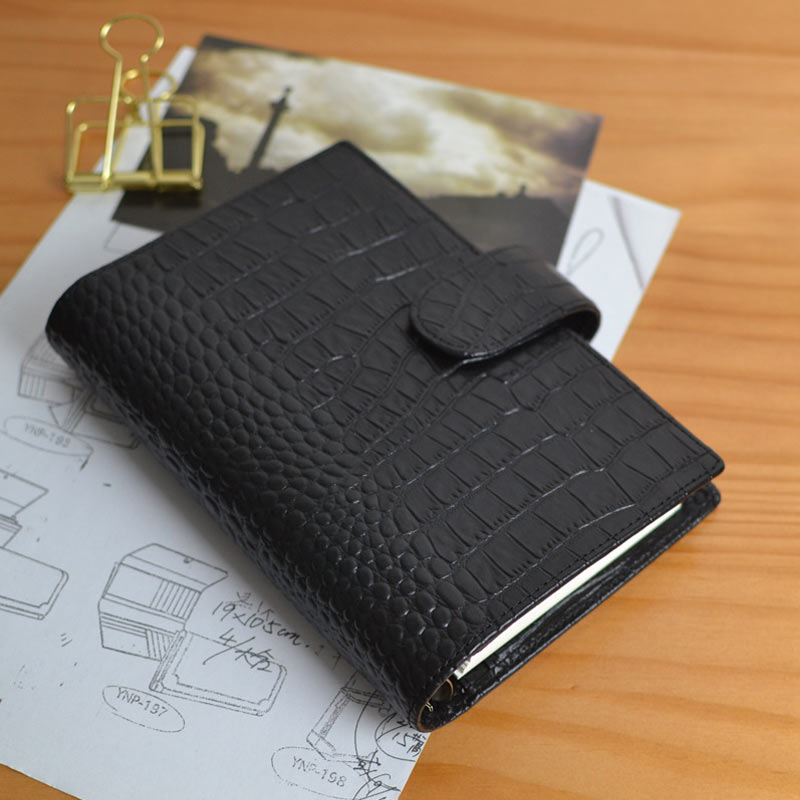 2018 Yiwi Vintage A6 Persona Genuine Leather Traveler s Notebook Bullet Journal Diary Planner Sketchbook Creative