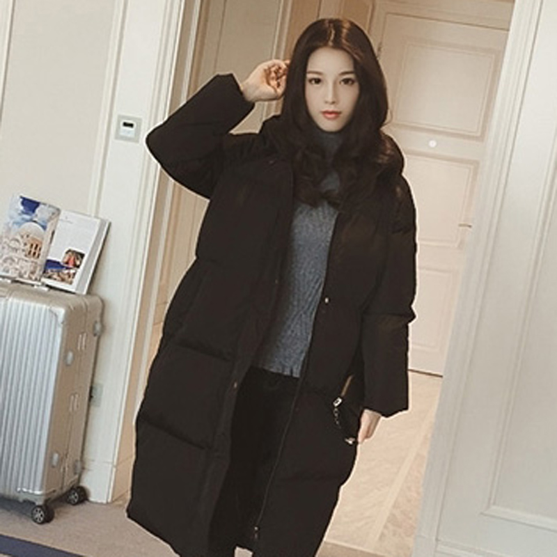 Winter clothes winter women s cotton jacket fashion zipper long coat thick Loose large size jacket
