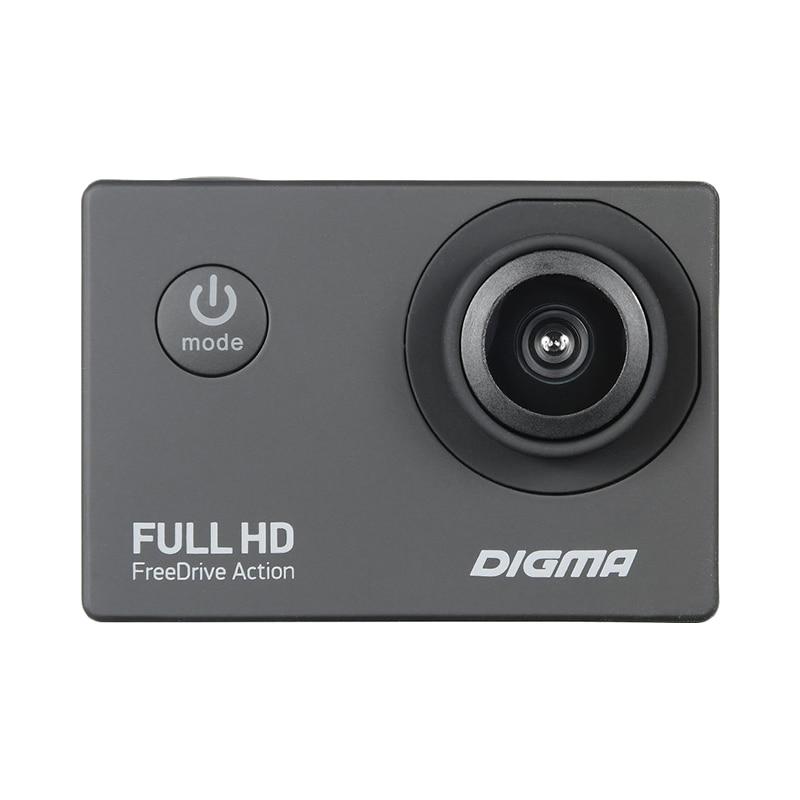 DVR/Dash Camera DIGMA FreeDrive Action Full HD car dvr dvrs registrator dual lens dash camera cam digital video recorder full hd 1080p night version novatek 96663 imx291 wifi