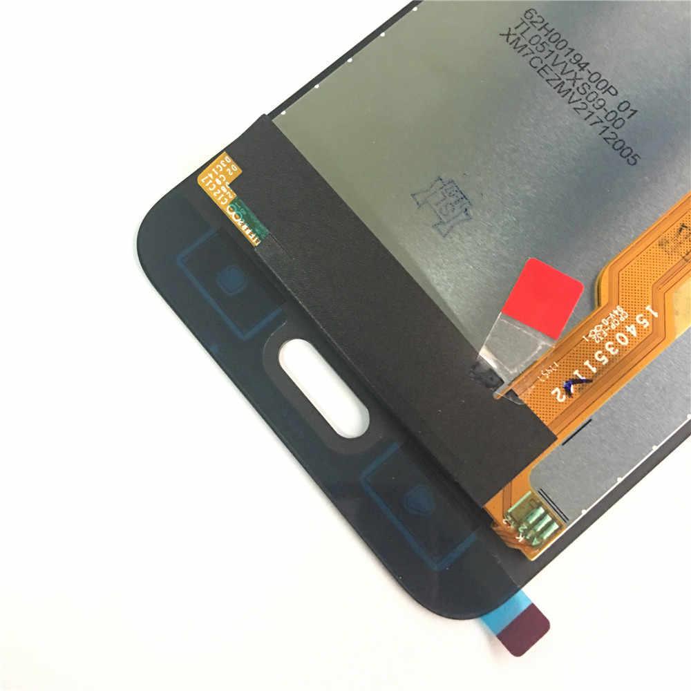شاشة الكريستال السائل ل HTC U11 لايت شاشة الكريستال السائل مجموعة المحولات الرقمية لشاشة تعمل بلمس استبدال