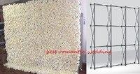 Цветок стены складной стенд рамка для свадебных фонов прямой баннер выставочный стенд стенды торговые рекламные материалы