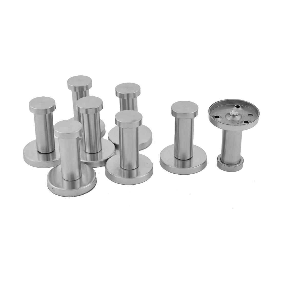 Satin stainless steel wall mounted hook - Online Get Cheap Coat Hooks Round Aliexpresscom Alibaba Group Uxcell Pcs Stainless Steel Round Wall Mount