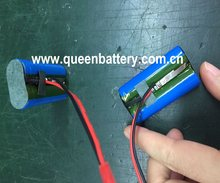 QB14500 AA 14500 1S2P 3.7V 1400MAH baterii akumulatorów z PCB/PCM 3A con. Z złącze JST
