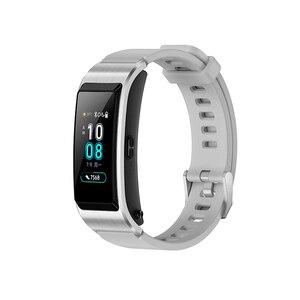 Image 2 - Original Huawei TalkBand B5 Bracelet de conversation B5 Bluetooth Bracelet intelligent bracelets de sport tactile AMOLED écran appel écouteur bande