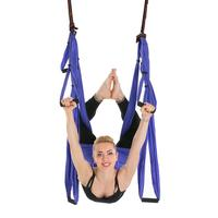 6 Handles Anti Gravity Aerial Traction Device Yoga Hammock Strap Pilates Home Gym Hanging Belt Swing Trapeze 2.5*1.5m