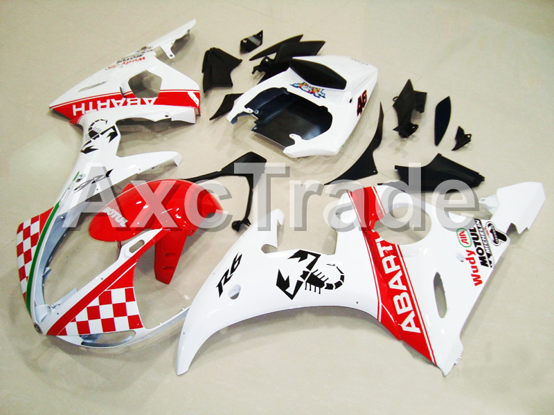Motorcycle Fairings For Yamaha YZF600 YZF 600 R6 YZF-R6 2003 2004 2005 03 04 05 ABS Injection Molding Fairing Bodywork Kit B410 hot sales 2005 r6 fairings for yamaha yzf r6 05 yzf r6 05 yzf 600 r6 yzf r6 red fiat abs fairing set injection molding