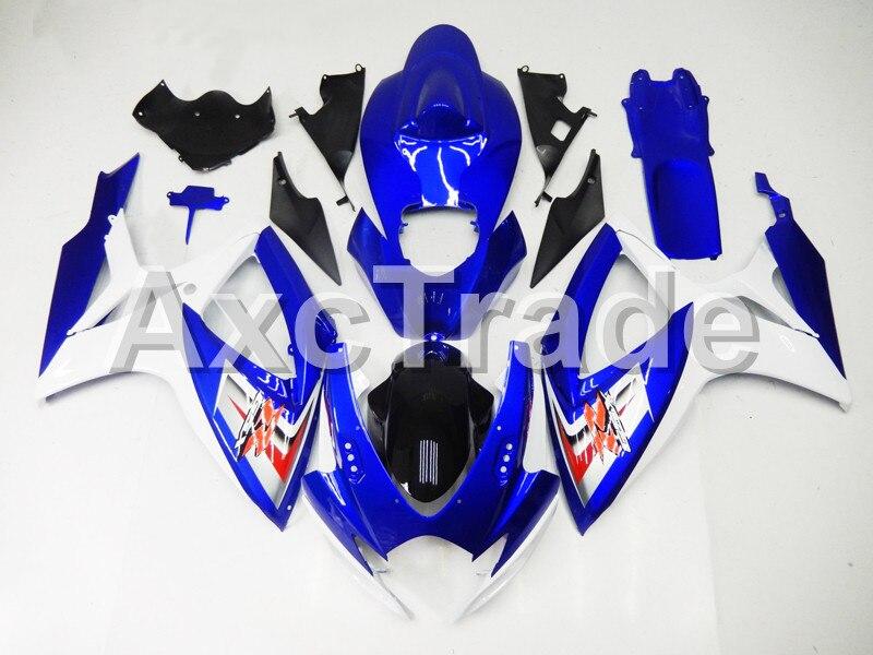 Motorcycle Fairings For Suzuki GSXR GSX-R 600 750 GSXR600 GSXR750 2006 2007 K6 ABS Plastic Injection Fairing Bodywork Kit Bu8272