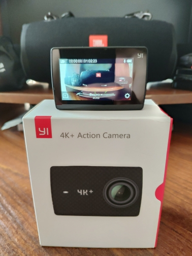 "YI 4K+(Plus) Action Camera International Edition FIRST 4K/60fps Amba H2 SOC Cortex-A53 IMX377 12MP CMOS 2.2""LDC RAM EIS WIFI"