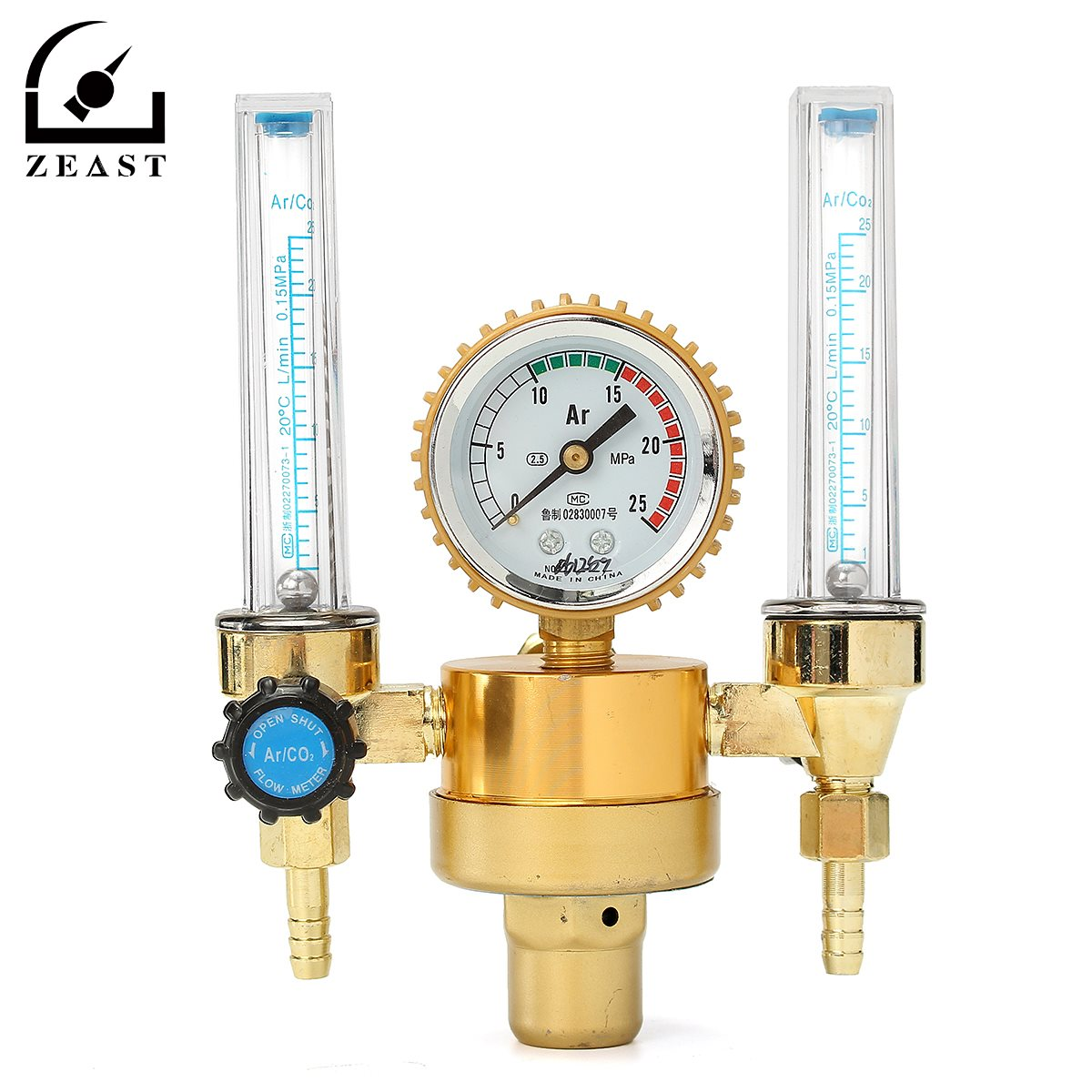 Argon Meter Dual HTP 0.15 MPA Mig Tig Flow Meter Gas Argon AR/CO2 Regulator Welding Weld  high quality htp argon co2 mig tig flow meter regulator welding weld free shipping