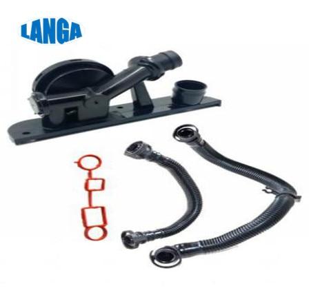 Repair intake Bridge kit Crankcase Breather Oil Separator Grand  06F129101L  for Golf /Jetta