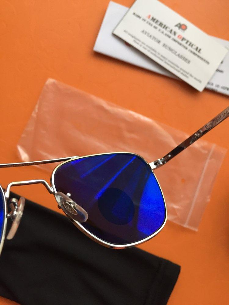 Fashion High Quality Brand Designer Sunglasses Men American Army Military Pilot