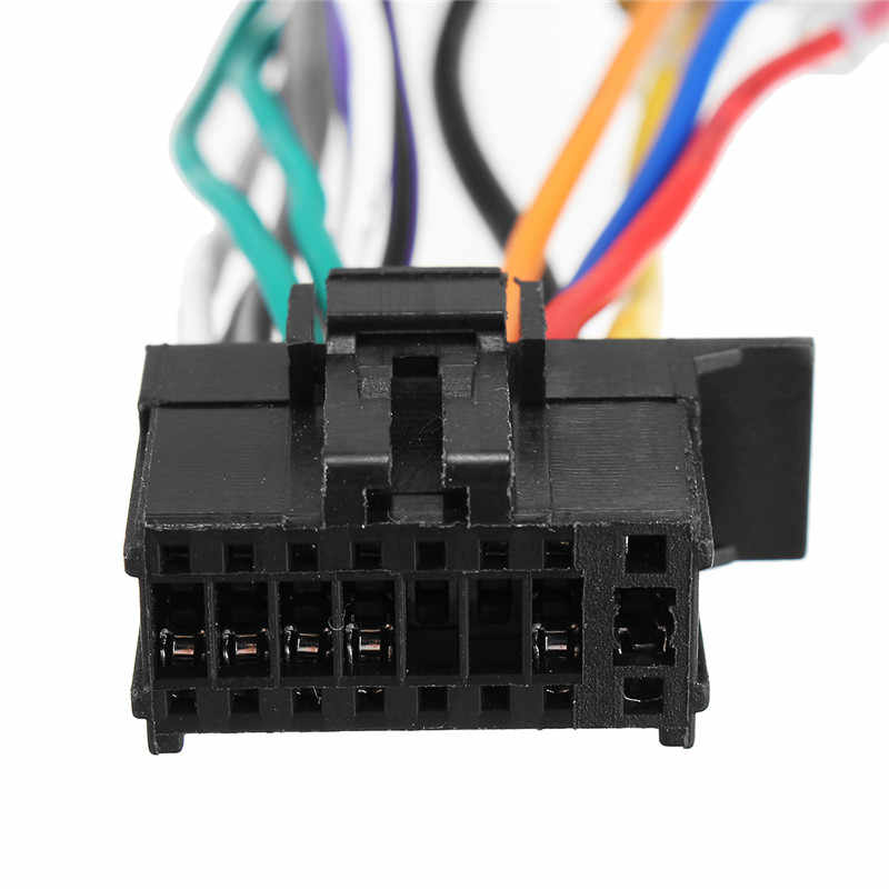 Car Stereo Radio ISO Wiring Harness Connector 16-Pin PI100 For Pioneer on pioneer deh 16 manual, pioneer radio wiring diagram, pioneer electronic hat pin, pioneer stereo removal tool homemade, pioneer x5600hd wiring, pioneer electronics lapel pin, pioneer avic-d3 wiring-diagram, pioneer harness metra, pioneer 16 pin wiring adapter, pioneer avh p1400dvd wiring-diagram, pioneer 16 pin connector,