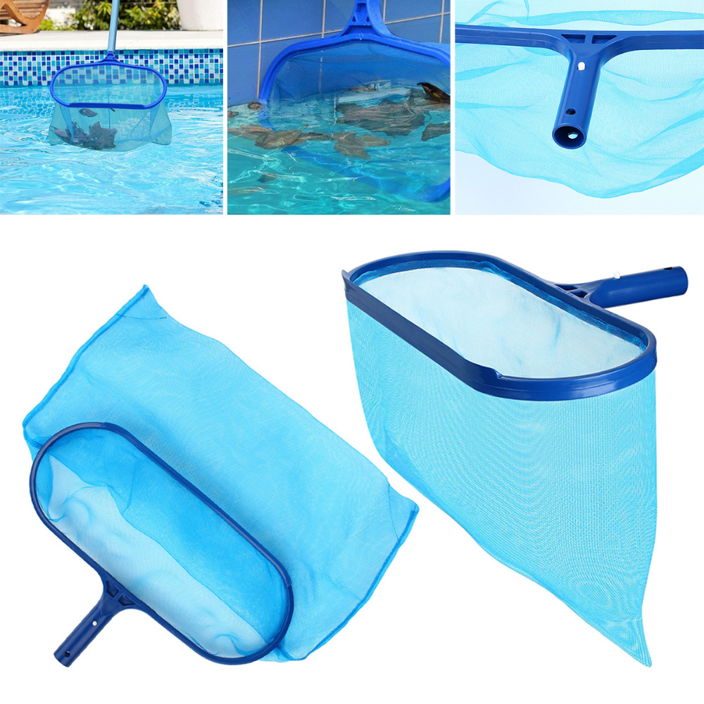 US $6.64 5% OFF|New Arrival Professional Blue Plastic Leaf Rake Mesh Net  Skimmer Clean Swimming Pool Tool Leaf Skimmer Net-in Pool & Accessories  from ...