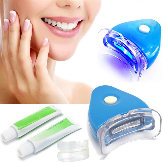 Profissionais Dentes Branqueamento Kit De Luz Led Com 20g