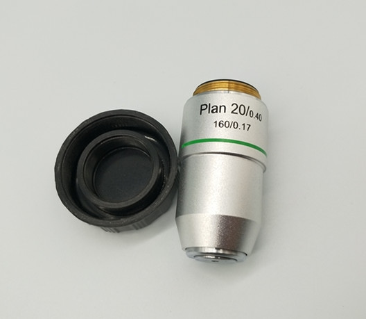 Best Microscope PLAN achromatic Objective 20X 0 4 mounting4 5 X1 36 for195mmsystem 160mm biological microscope