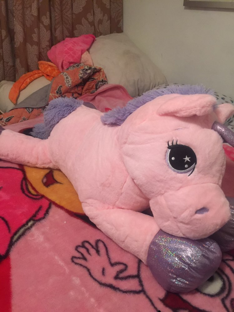 Giant Unicorn Plush Toys photo review