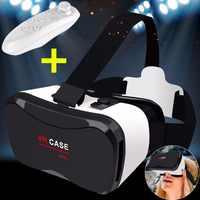 VR boîte à lunettes casque 3D lunettes visionneuse virtuelle Trave des yeux lunettes de réalité virtuelle Google carton pour Xiaomi Huawei téléphone IOS