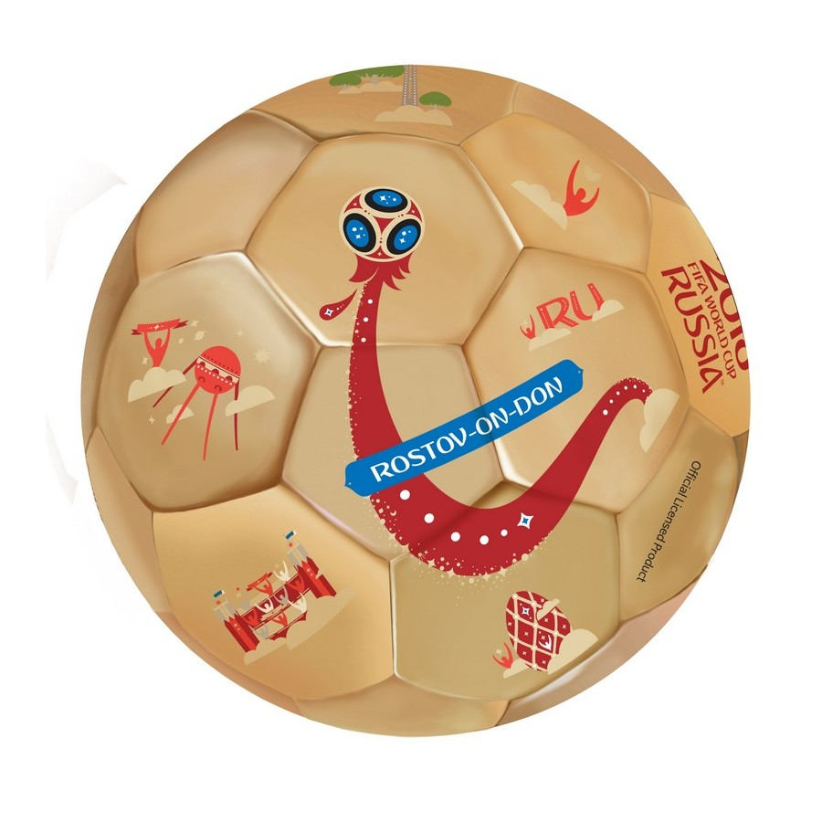Toy Balls FIFA WORLD CUP RUSSIA 2018 soccer ball with Cities 2,2mm, TPU + EVA, 350g, size 5 (23cm) bian ball diy handmade materials plasticine toy