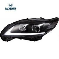 VLAND фабрика для автомобиля фара для Corolla фара 2011 2012 2013 Corolla светодиодный головного света с H7 ксеноновая лампа объектив