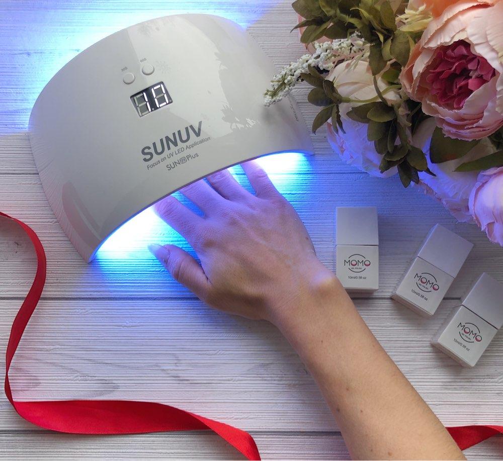 SUNUV SUN9x Plus 36W Nail Lamp UV Lamp Nail Dryer for UV Gel LED Gel Nail Machine Infrared Sensor Timer Set
