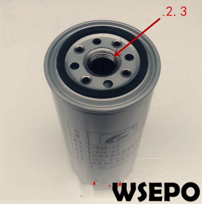 Top Quality! Oil Filter JX0818A Fits for 6105/6108 06 Cylinder 04 Stroke Water Cooling Diesel Engine Top Quality! Oil Filter JX0818A Fits for 6105/6108 06 Cylinder 04 Stroke Water Cooling Diesel Engine