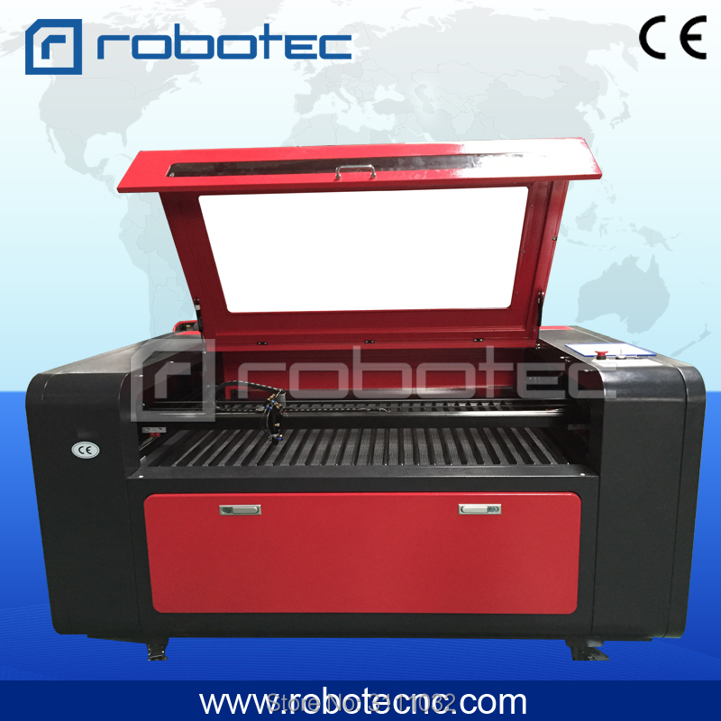 Robotec 9060 1390 laser cutting machine co2/100 laser cutter/ laser printer for glass acrylic wood paper