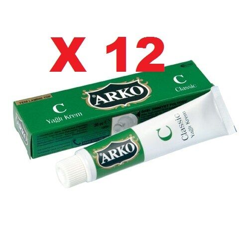 12x ARKO CLASSIC Hand Cream,after Shave Cream, Make Up Cleaner , Family Cream
