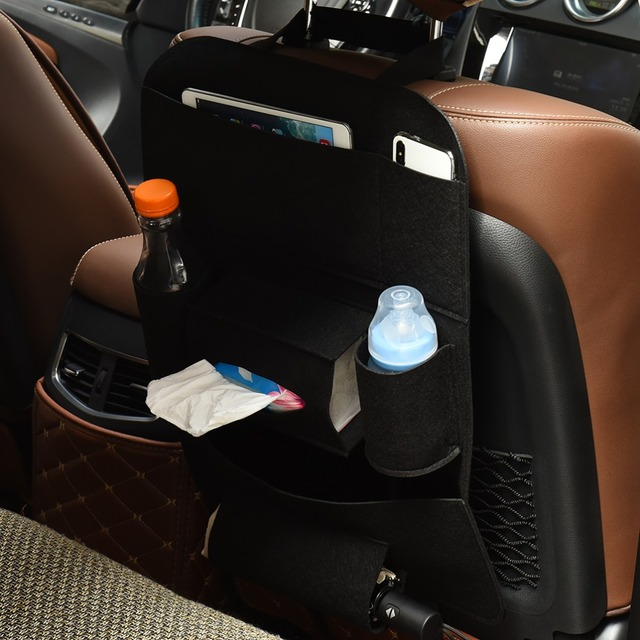 Car Multi-Pocket Bag Hanging Organizer Holder Storage