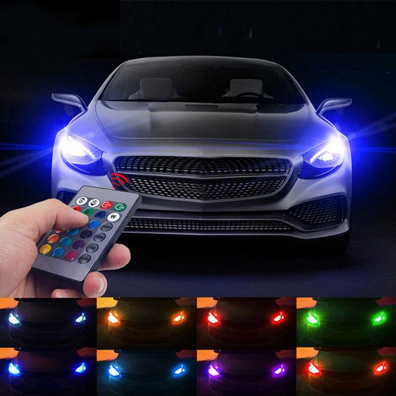 under blue car lighting lights underbody kit vehicle strips truck led piece