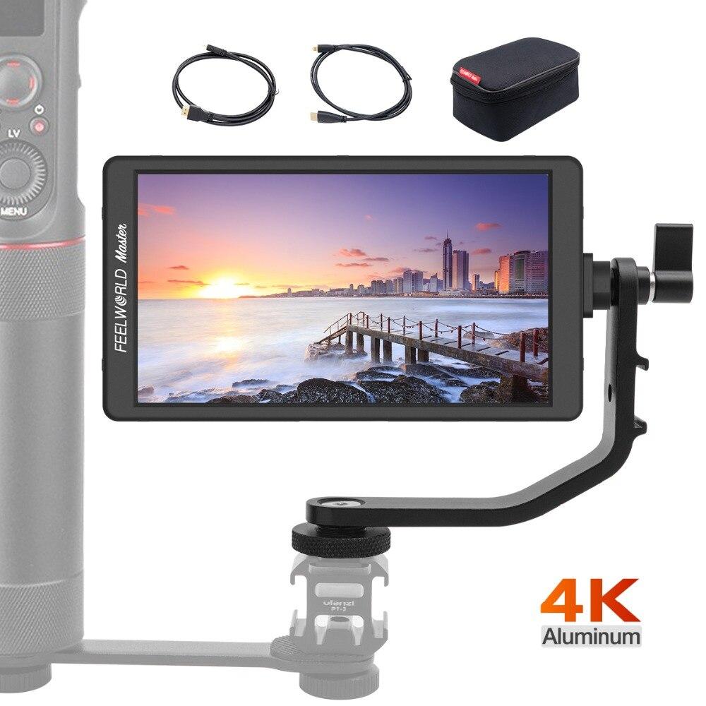 FEELWORLD Maître 2018 Nouvelle Série MA6 5.7 Sur-Caméra Moniteur 1920x1080 4 k Entrée HDMI/ sortie pour Cardans Zhiyun Grue 2 Reflex Numériques