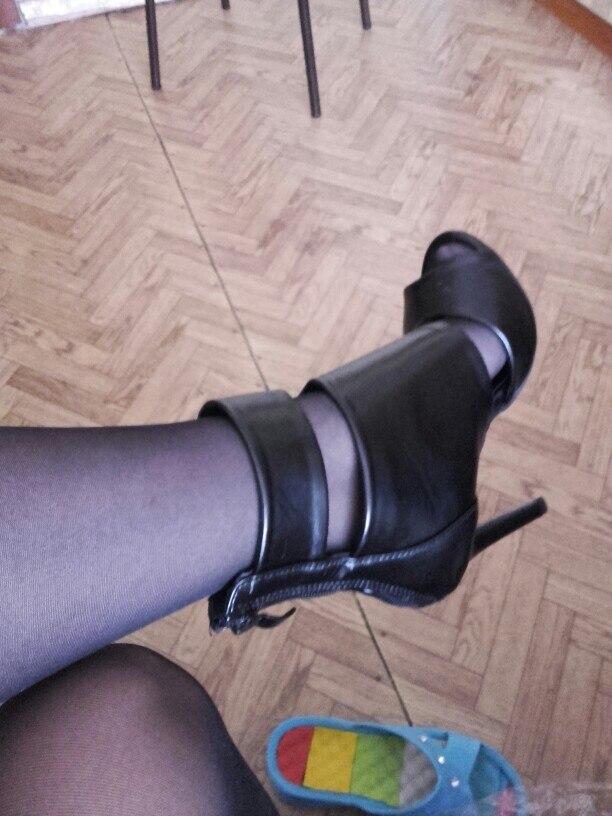 DEleventh/2018 Новый Вырезами с открытым носком черный на молнии туфли на высоком каблуке женские босоножки летние модные женские туфли пикантные Туфли под платье из искусственной кожи черный