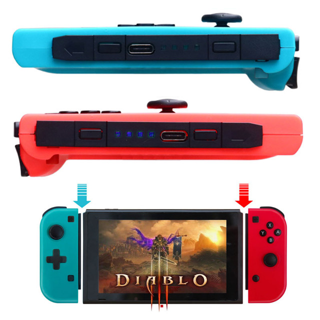 1pcs 2019 switch Wireless Pro game controller for Nintendo Switch Console switch Gamepad Joystick left right