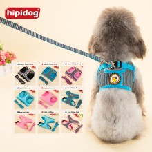 Hipidog Soft Adjustable Pet Harness Dog Clothes Cat Vest Leash Apparel for Small 9 Styles