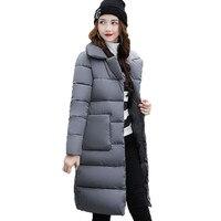 Dow куртка женщин пуховик зимнее пальто зимняя куртка хлопка ватник Женщина Зимняя Куртка Пальто