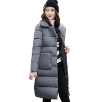 Dow parka women down jacket winter coat winter parka cotton padded jacket Woman Winter Jacket Coat