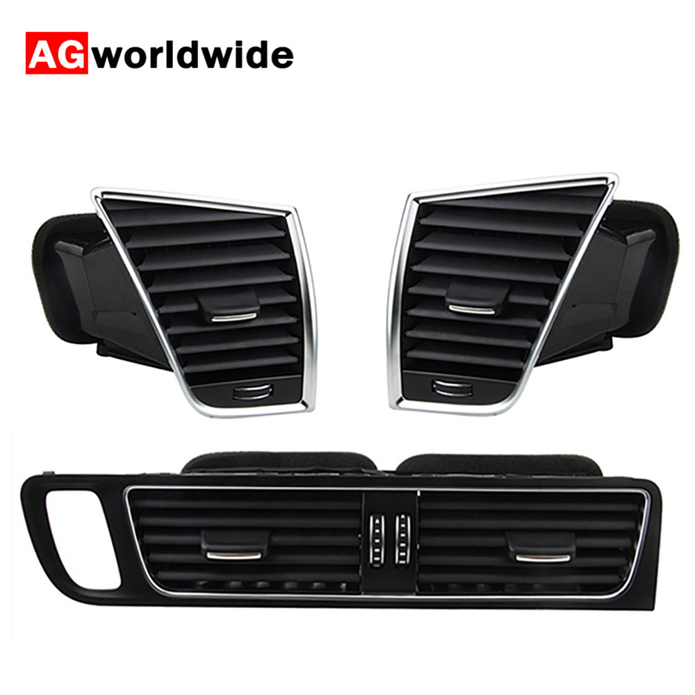 8R1820901 8R1820902 8R1820951C Front Air Conditioning Outlet Center Armrest Air Vent Assembly For Audi Q5 2009