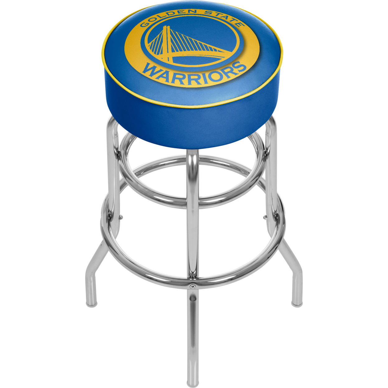 Golden State Warriors NBA Padded Swivel Bar Stool 30 Inches High nikko машина nissan skyline gtr r34 street warriors 1 10 901584 в перми