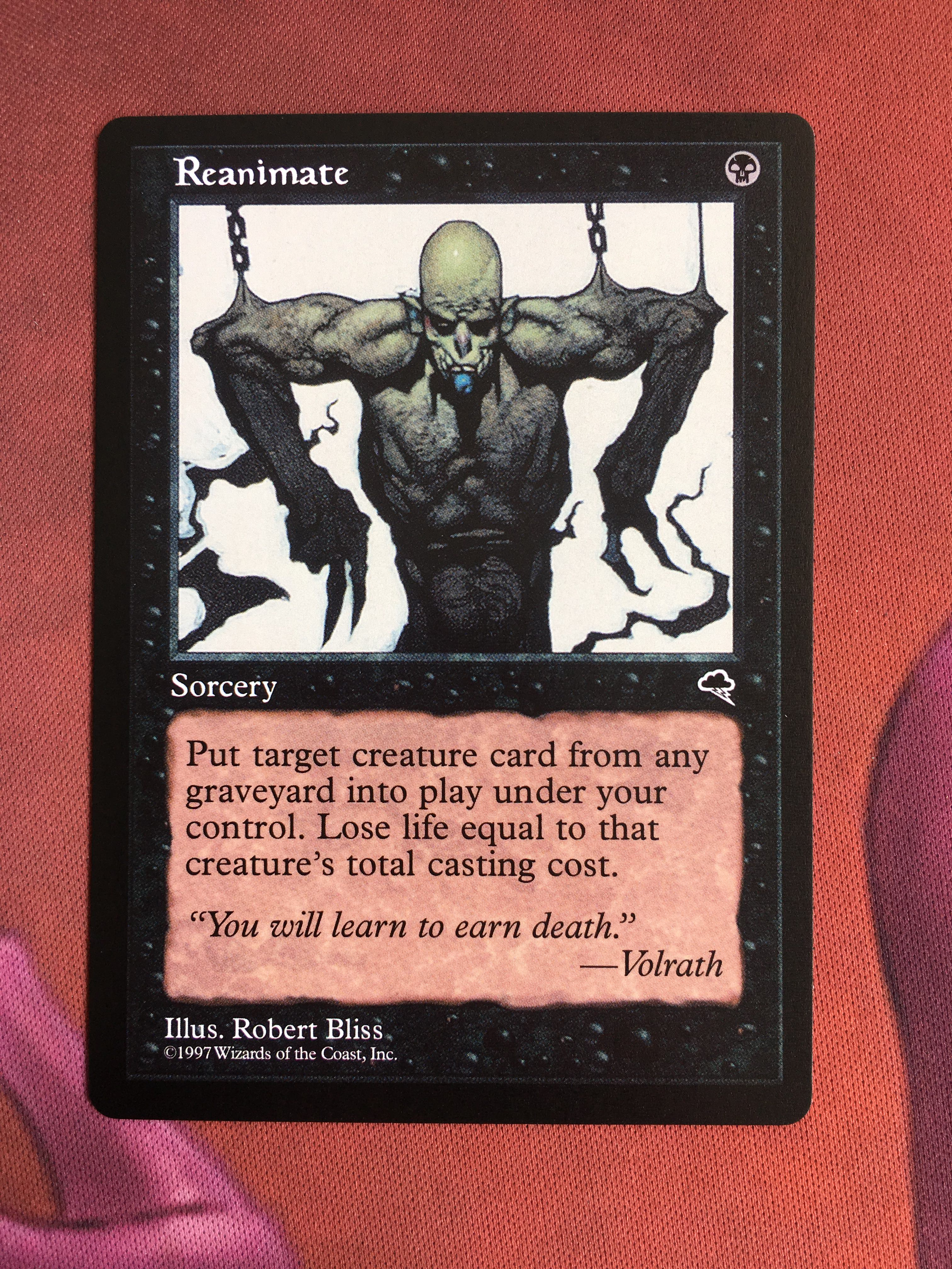 Reanimate Tempest Magician ProxyKing 8.0 VIP The Proxy Cards To Gathering Every Single Mg Card.