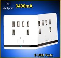 Smart Home Wallpad USB Wall Socket AC 12 36V US UK EU AU Wall Socket 3400mA