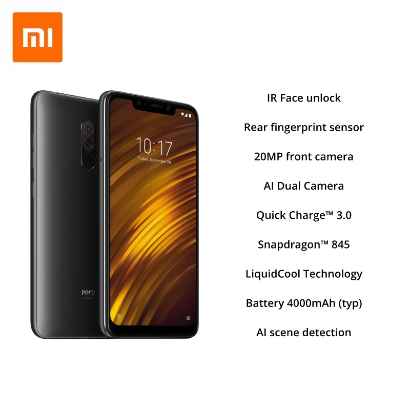 Image 3 - Global Version Xiaomi Pocophone F1 128GB ROM 6GB RAM, EU VERSION (Brand New and Sealed)-in Cellphones from Cellphones & Telecommunications