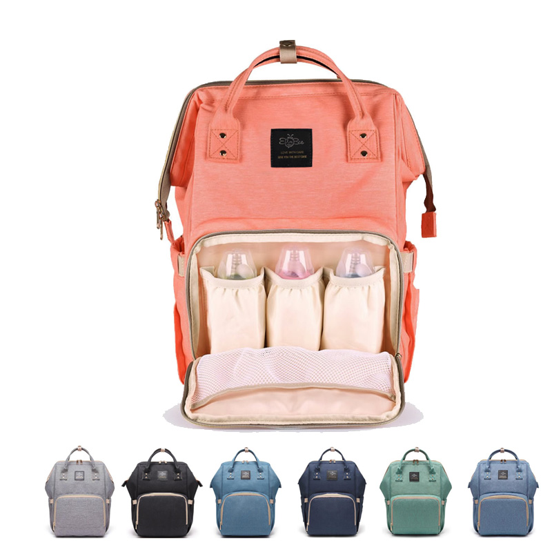 Multi-functional Diaper Bag 2018 New Waterproof Travel Backpack Large Stylish Durable Nappy Bag For Baby Care