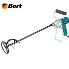 Дрель-Миксер Bort BPM-850 (Мощность 820 Вт, 450 об/мин холостого хода, ключевой тип крепления)